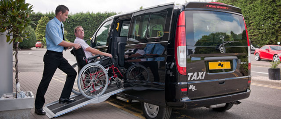 Wheel Chair Access Winchester Taxi From Wessex Cars
